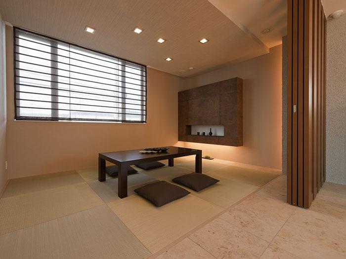 琉球畳敷きのモダン和室 | 住友不動産 J・スカイ